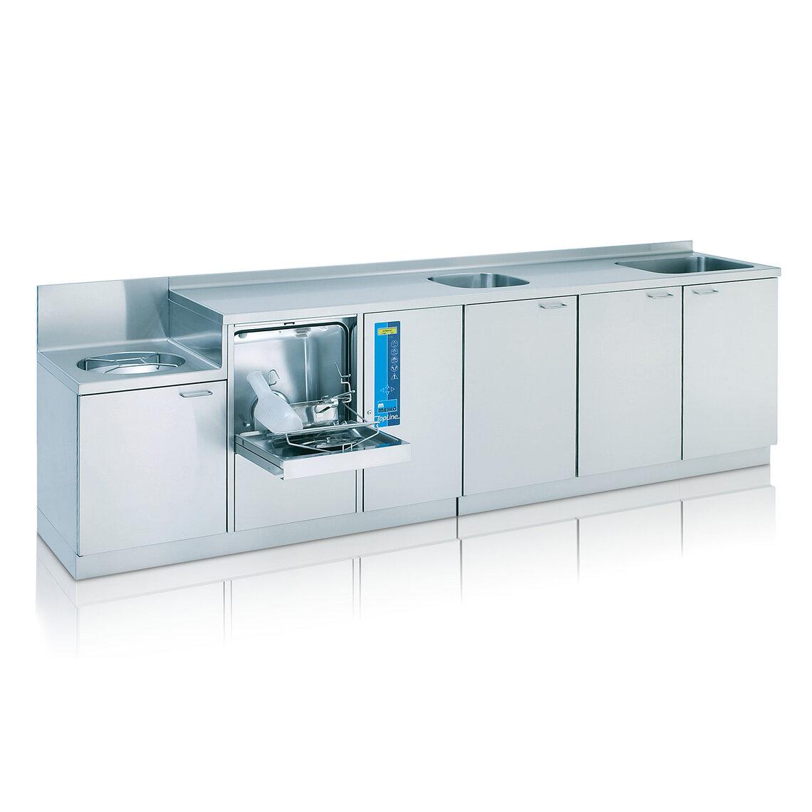 Combined sluice units for hospital hygiene - MEIKO